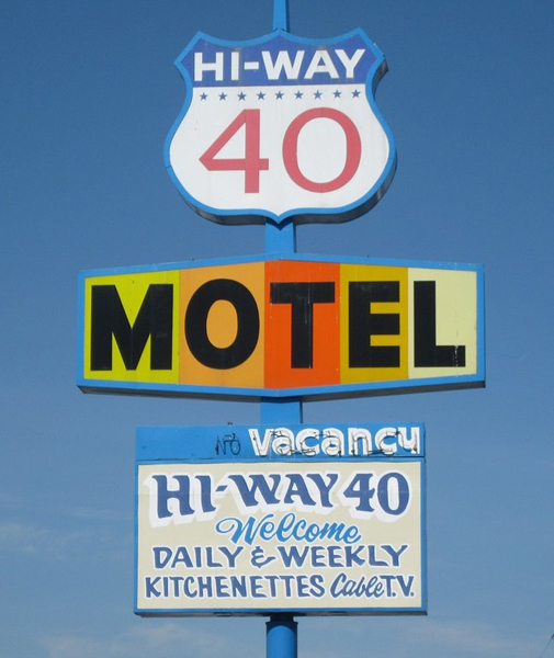 U S Route 40 Cottages Motor Courts And Motels Nevada