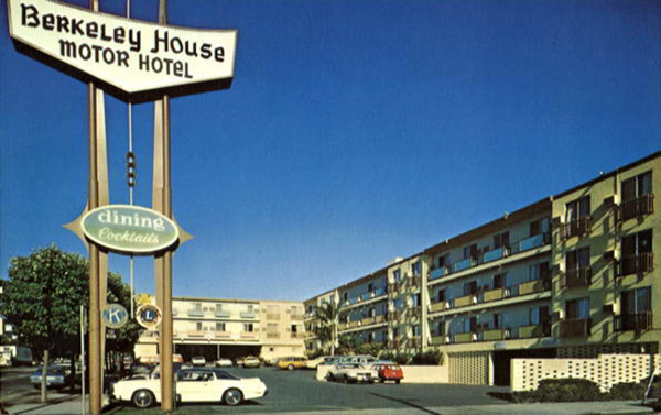 U s route 40 la quinta inn berkeley house motor hotel for La quinta motor inn