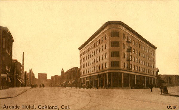 Hotel San Pablo Arcade Oakland Ca Opened In 1907 Recent Years The Was An Apartment Building It Slated Top Be Demolished But