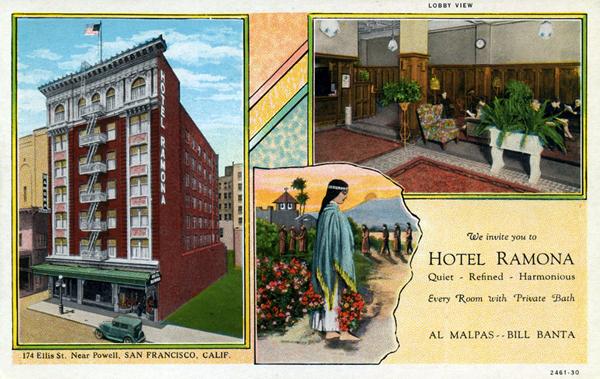 Hotel Ramona Apartments San Francisco Ca