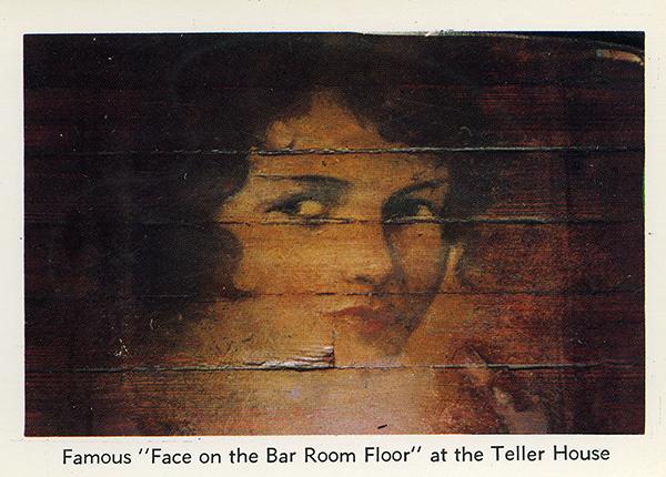 The Face On The Ballroom Floor At The Teller House