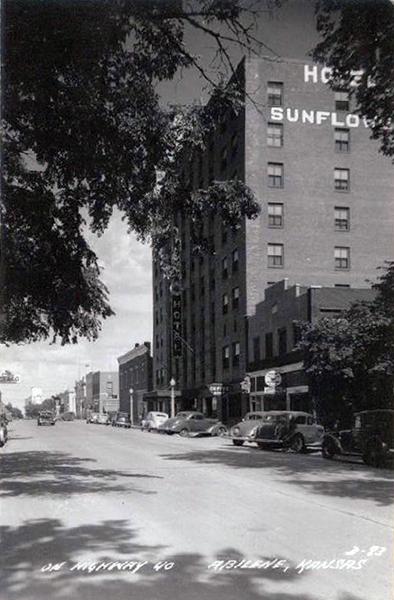 Sunflower Hotel Lamer Abilene Ks