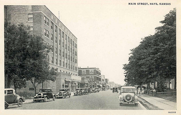 Emprise Bank Building Rooftops Restaurant Lamer Hotel Hays Ks Opened In 1930 160 Rooms The Now Houses And
