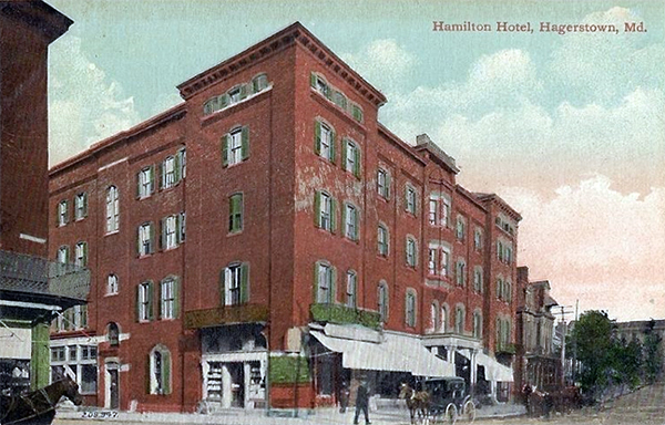Hotel Hamilton Closed Hagerstown Md