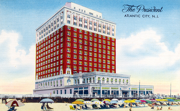 President Hotel Site Atlantic City Nj