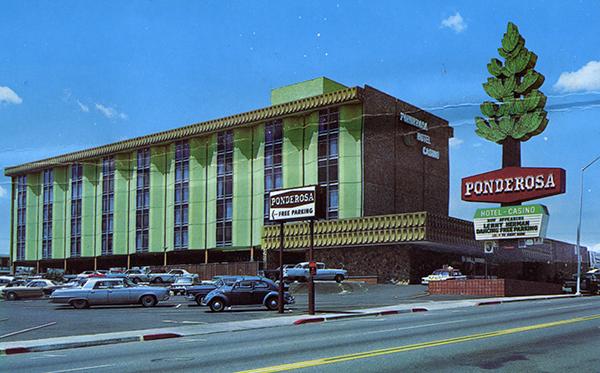 Ponderosa Hotel Reno Nv