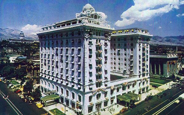 Hotels slc ut for Garden room joseph smith building