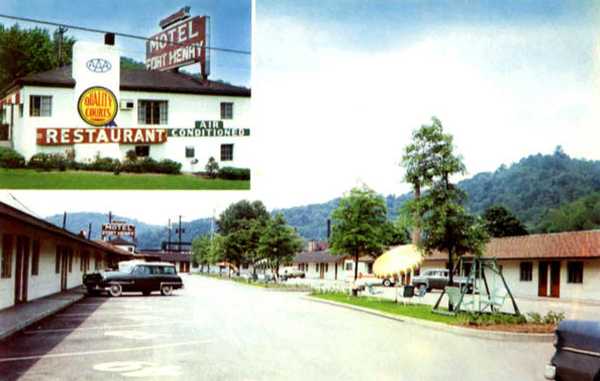 U S Route 40 Cottages Motor Courts And Motels West
